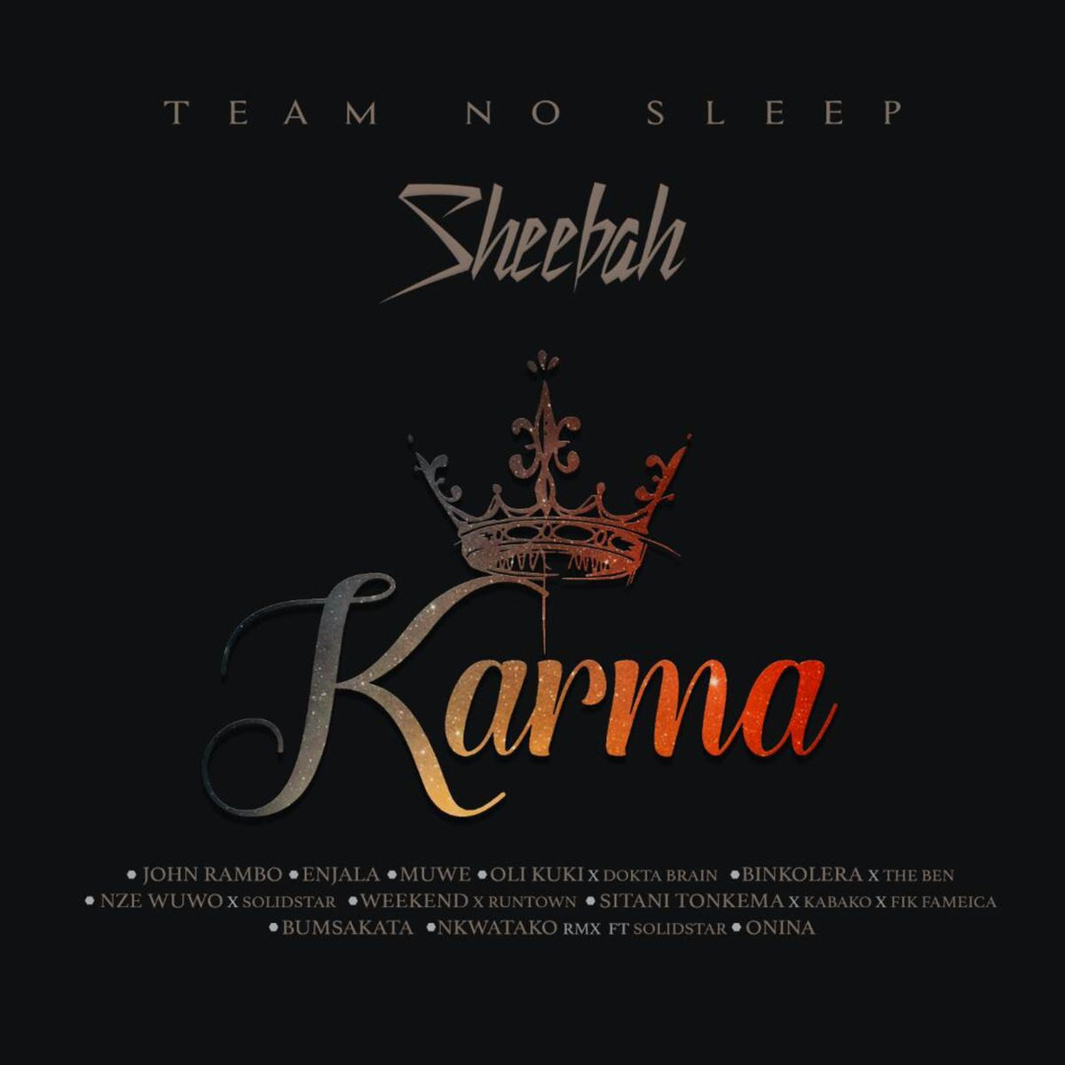 Sheebah Karungi - Karma Queen Album Cover